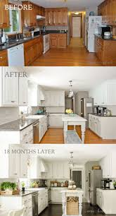 Kitchen Cabinets Designs Photos by Best 25 Before After Kitchen Ideas On Pinterest Before After
