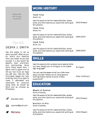 Basic Resume Examples Skills Free Resume Templates In Word Resume For Your Job Application