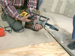 how to repair a water damaged subfloor how tos diy
