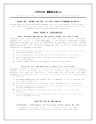 Oilfield Resume Objective Examples by Hvac Resume Template Pursuing Hvac Technician Resume 20 Hvac