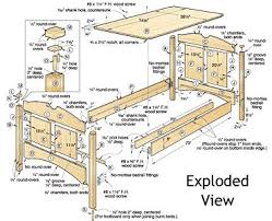 Plans For Wooden Platform Bed by Build Your Own Bed Plans Wood Magazine