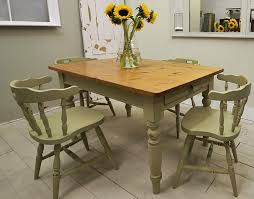 Shabby Chic Dining Table Teal White Metal Finish Dining Chair Base - Dining room armoire