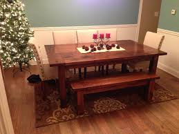 Farm Dining Room Table Simple Diy Farmhouse Style Dining Room Table Tutorial The