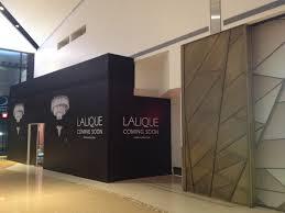 Home Design Store Chicago Lalique Las Vegas Showroom Under Construction Cook