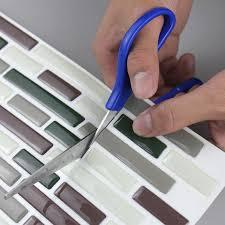 Tile Sheets For Kitchen Backsplash Kitchen Backsplash Peel And Stick Tiles Fau Subway Glossy Wall