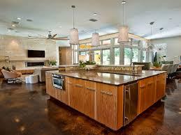 kitchen designs open concept kitchen living room designs home