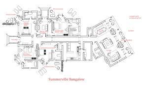 all bungalow floor plan architecture plans 83347