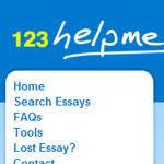 Argumentative essay helpme English