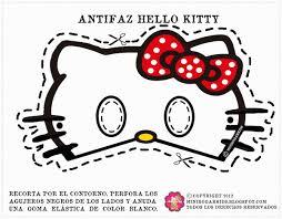 free printable masks kids kitty masks 4 bow color