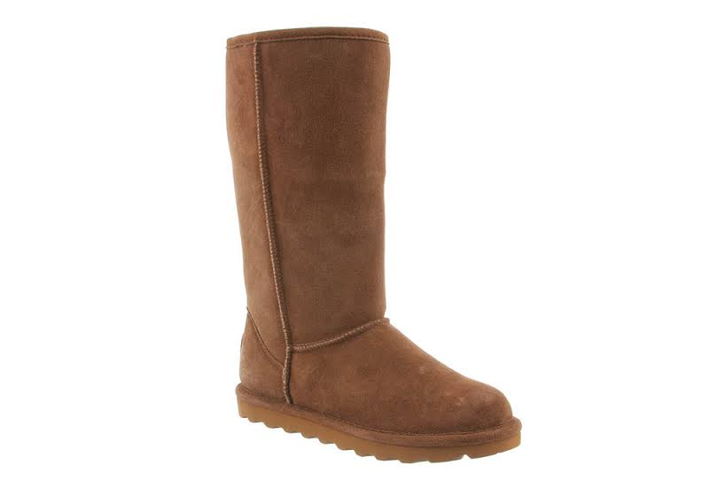 Bearpaw Elle Tall Mid-Calf Suede 10M Hickory Ii