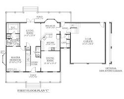 southern heritage home designs house plan 2341 c the montgomery house plan 2341 c montgomery c first floor plan