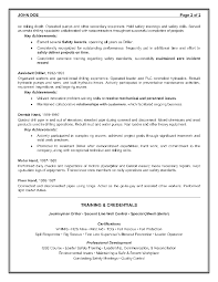 View Resume Samples by Epic Example Of A Oilfield Consultant Resume Sample