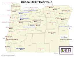 Oregon Map by Oregon Resources Rural Health Information Hub