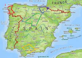 Madrid Spain Map by Planning A Road Trip In Spain Curiosity Travels