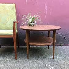 Retro Sofa Table by Vintage Mid Century Modern Round Table By Lane U2014 Rerunroom