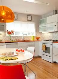 Orange And White Kitchen Ideas Choosing Your Perfect Kitchen Painting Ideas For Cheerful Look
