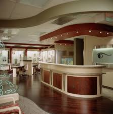 schell optometry optical office design barbara wright design