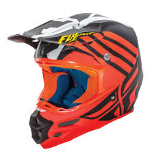 white motocross helmets fly racing 2016 f2 carbon zoom orange black white motocross helmet