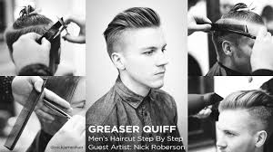 Mens Hairstyles For Business Professionals by The Greaser Quiff Men U0027s Haircut Step By Step