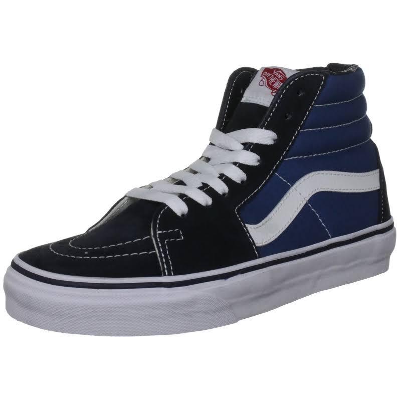 Vans Sk8-Hi (Navy) Skate Shoes-8.5