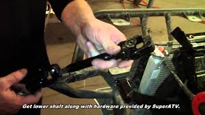 kawasaki teryx 4 ez steer power steering install superatv