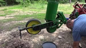 John Deere 7100 Planter by John Deere Flex 71 Setting Up For Sweet Corn Youtube