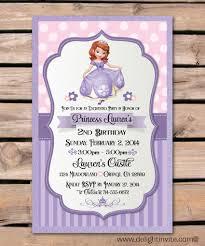 1st birthday princess invitation sofia the first logo template invitation templates designsearch