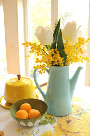 Decorating Ideas For Kitchen Best 25 Yellow Kitchen Decor Ideas Only On Pinterest Kitchen