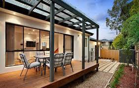 Enclosing A Pergola by Home Extensions Decks U0026 Pergolas Realestate Com Au