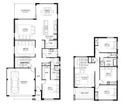 four bedroom house plans home design ideas south african single storey house plans