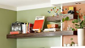 Free Woodworking Plans Wall Shelf by Floating Wrap Around Wall Shelves