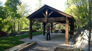 Custom Gazebo Kits by Pergola Pavilion Western Timber Frame Part 3
