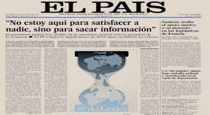 El País, Wikileaks