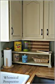 Chalk Paint For Kitchen Cabinets Whimsical Perspective My Chalk Paint Kitchen Cabinets The Update