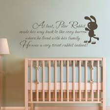 Interior Design Quotes by Wall Decoration Nursery Wall Sticker Quotes Lovely Home
