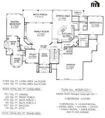 house plans with two living areas
