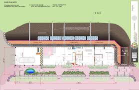 Earth Contact House Plans Global Model Earthship Earthship Biotecture
