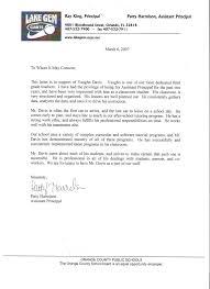 sample assistant principal resume resume davisvau recommendation letter