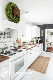 What To Do With The Space Above Your Kitchen Cabinets 21 Examples Of The Space Above Your Kitchen Cabinets Happily