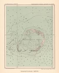 Boca Grande Florida Map by Map Antique Marquesas Keys Florida From Thirteenth Annual Report