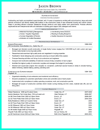 Director Of It Resume Examples by Construction Project Manager Resume For Experienced One Must Be