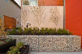 oak wall planters patio contemporary with roof deck contemporary