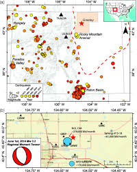Southern Colorado Map by Rapid Response Monitoring And Mitigation Of Induced Seismicity