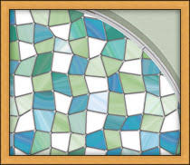 stained glass door film privacy and decorating ideas for glass storm doors