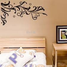 Bedroom Wall Decals Trees Tree Branch Wall Stickers Climbing Vine And Circles Black Art