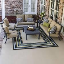 Patio Furniture From Walmart - furniture using fascinating sunbrella deep seat cushions for