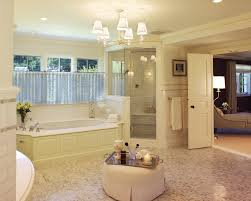further bathroom remodel tile ideas another bath remodel took out astonishing glass chandelier bathroom on white plafond over white standard bathtubs and corner shower rooms as