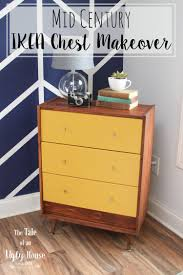 mid century ikea chest makeover sincerely marie designs