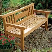 outside wooden bench outdoorlivingdecor