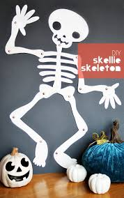 Easy Halloween Arts And Crafts For Kids by 25 Best Skeleton Craft Ideas On Pinterest Dino Craft Halloween